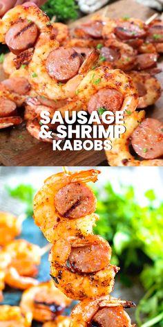 Seafood Appetizers, Seafood Recipes, Hibachi Recipes, Shrimp Kabob Recipes, Kebab Recipes, Healthy Appetizers, Party Snacks For Adults Appetizers, Party Appetizer Recipes, Shrimp Dinner Recipes