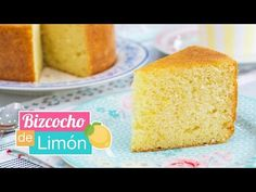 Bizcocho de limón CLÁSICO | Receta fácil | Quiero Cupcakes! - YouTube Mexican Food Recipes, Ethnic Recipes, Cupcakes, Zucchini Bread, Quick Bread, Cheesecakes, Cornbread, Vanilla Cake, Recipes
