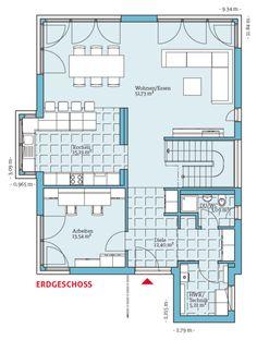 Fertighaus und Energiesparhaus - Villa 189 EG