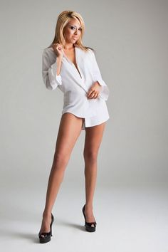 Sexy shirt Amateur white