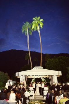 Viceroy Hotel Palm Springs huppah | Sneak Peek ~ A Viceroy Palm Springs wedding » Christine Arnold ...