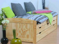 bed met lades