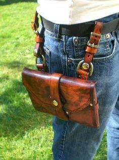 belt pouch for journal/book