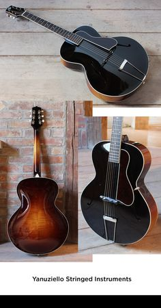 Yanuziello Archtop Guitar
