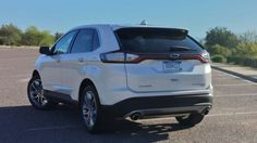 2015 Ford Edge ▓ Obvious changes from 2014 = antenna at rear, LED light bar under hatch window