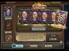 Opening 15 Grand Tournament Packs (Hearthstone)