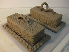 Butter dish by Gary Jackson