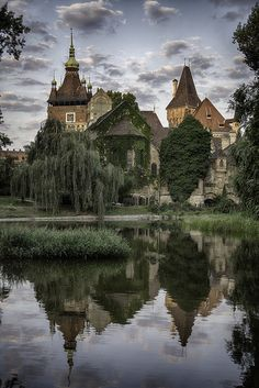 "allthingseurope: "" Vajdahunyad Castle, Hungary (by DIVCI KAMEN) """