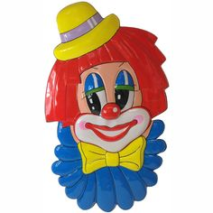 #karneval #decoration #wanddeko #clown #funny #bunt Send In The Clowns, Bunt, Donald Duck, Disney Characters, Fictional Characters, Seasons Of The Year, Carnival, Disney Face Characters