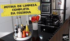 A cozinha é um dos ambientes mais frequentados da casa, por isso requer uma atenção especial na limpeza. No vídeo, dicas de como limpar as superfícies e ganhar mais tempo nessa tarefa.