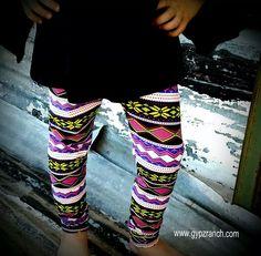 Kids - Secret Beauty Leggings $10 www.gypzranch.com