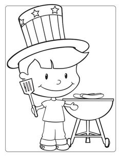 4th of July Coloring Pages Free to Print and Download 2014