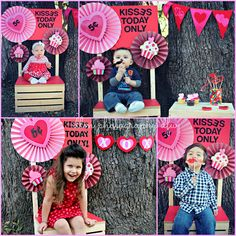 How to make a Valentine's Day Mini Kissing Booth 2013