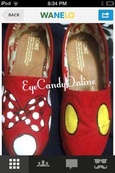Minnie-Mickey toms