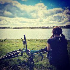 Riding bikes at Rutland with @gareth_ford88 #cycling #adventure #rutland #mtb #outdoors #whytebikes #sealskinz