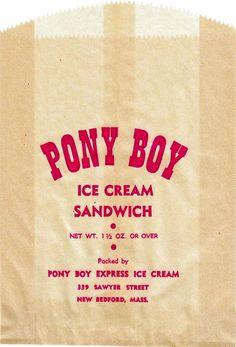 Timeless, Vintage Ice Cream Packaging Designs - DesignTAXI.com