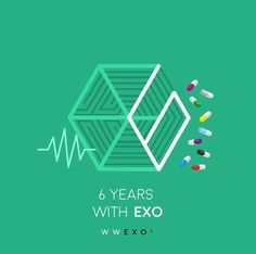 (actually it's almost been a year with Exo for me, i joined the party late) Luhan, Kaisoo, Chanbaek, Park Chanyeol, Kpop Exo, 5 Years With Exo, 6 Years, K Pop, Exo Cartoon