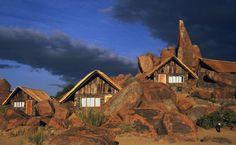 Kulala Wilderness Cam im südafrikanischen in Namibia