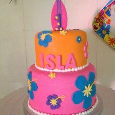 hawaiian themed smash cakes - Google Search