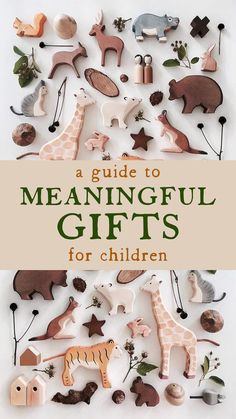 Meaningful Children's Gifts - A Guide — Rose Uncharted