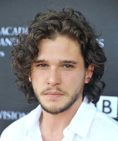 Kit Harington Long Hair - 40 Hot Guys with Long Hair: Sexy Long Hairstyles For Men #longhairmen #menshairstyles #menshair #menshaircuts #menshaircutideas #menshairstyletrends #mensfashion #mensstyle #fade #undercut #barbershop #barber