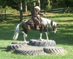 Cornerstone Horsemanship - Trail Challenge in Virginia · Horse Agility ObstaclesHorse ...