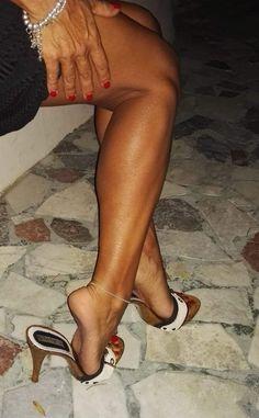 Sexy Heelpopping! Sexy High Heels, Beautiful High Heels, Sexy Legs And Heels, Gorgeous Feet, Great Legs, Beautiful Legs, Pantyhose Heels, Nylons, Sexy Toes