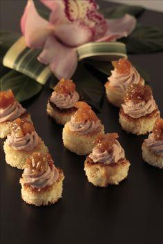 French Classic, Canapes, Parfait, Plum, Crisp, Cinnamon, Smoke, Sweet, Desserts