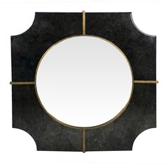 Materials Metal, Mirror  Finish Antique Gold & Antique Black Mirror
