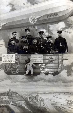 """""""Landwehr-Uebung Gruppe.""""  - """"Gruss aus Gruppe 1914."""" 