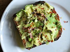 """You've gotta love avocado for it's nutrition (those healthy calories are worth it), as well as its versatility: toss it in a salad, throw it in a smoothie, or layer it on a crusty piece of toast. The world's been taken over by """"works as breakfast lunch or dinner"""" avocado toast as of late, and we have new takes on the foodie fave. And get ready for a seasonal upgrade: Savory cheeses, filling fruits and veggies and protein-packed nuts are among the ingredients our top bloggers use to take…"""