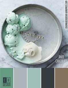 Mint Chocolate Chip | Color Blocks Design