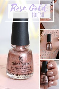I recently found the rose gold nail polish of my dreams!   Katie Actually