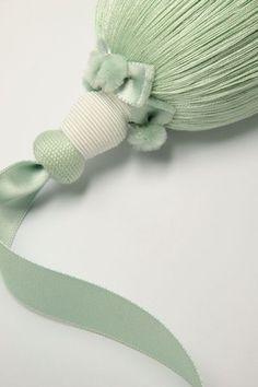 Silk tassel.