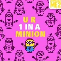 1 in a minion! | Minions Movie | In Theaters July 10th