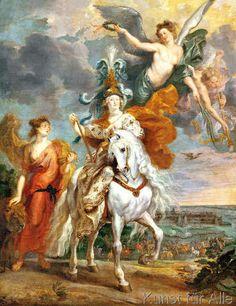 Peter Paul Rubens - Maria v.Medici, Triumph v.Jülich /Rubens