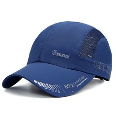 4154fc38eede Mens Thin Breathable Quick Dry Baseball Cap Sunshade Leisure Outdoor Mesh  Hat is hot sale on Newchic Mobile.
