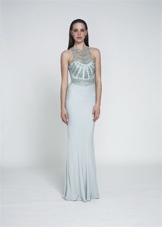 Wedding Dresses by Rachel Gilbert - but in champ - these necklines do look nice on you