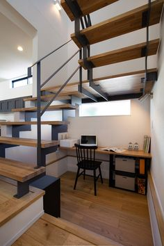 Staircase Storage, Loft Stairs, House Stairs, Staircase Design, Pinterest Room Decor, Stairs In Living Room, Loft House, Room Setup, Cozy Room