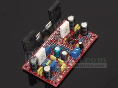 DX LM3886 TDA7293 AMP Precise Amplifier Board Kit from http://www.icstation.com/lm3886-tda7293-precise-amplifier-board-p-8460.html