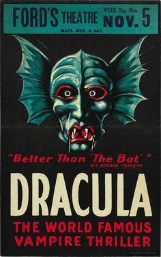 ~ Dracula Movie Poster