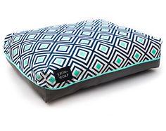 Cama del perro rombo acuático Pet Bed del por LionAndWolfPets