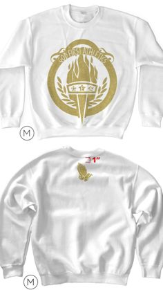 GFA Classic Sweatshirts (WHITE) Only A Few Remaining