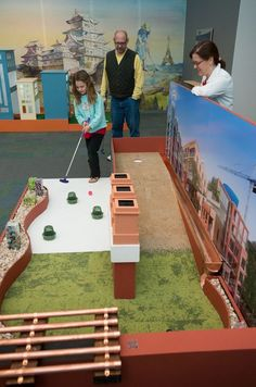 National Building Museum Mini Golf Returns, Plus Backyard Barbecue From Hill Country Indoor Mini Golf, National Building Museum, Crazy Golf, Golf Drivers, Sweat It Out, Golf Gifts, Backyard Bbq, Barbecue, Country