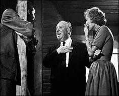 Psycho (1963) I On the Set I AH, Janet Leight, Anthony Perkins
