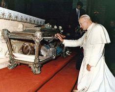 Maria Goretti and Pope John Paul II - (my two saints!! ♡)