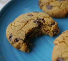 Delicious cookies with oatmeal and chocolate chips - quick and easy to make, see recipe