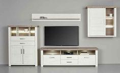 set one by musterring wohnwand york 4tlg wohnw nde wohnw nde tv lowboards wohnzimmer. Black Bedroom Furniture Sets. Home Design Ideas