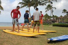 Kauai Activities- Surf Lessons!!