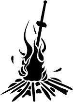dark souls bonfire tattoo - Google Search